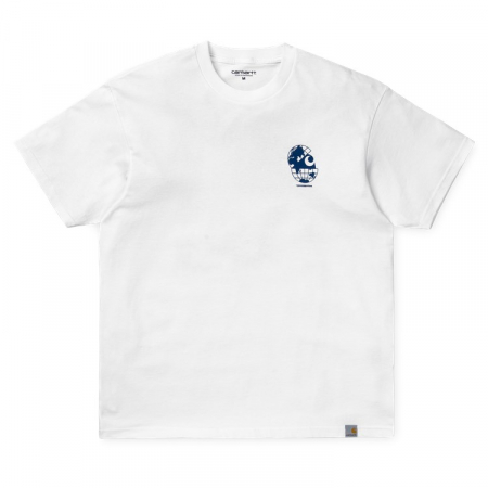 CARHARTT S/S Radio T-Shirt White / Blue0