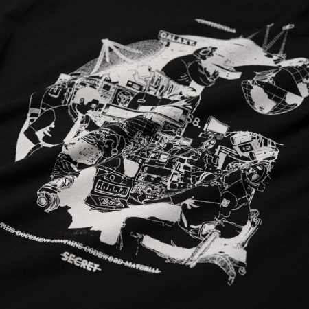 CARHARTT S/S Radio T-Shirt Black / White2