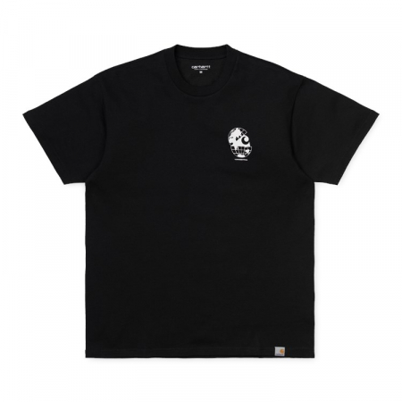 CARHARTT S/S Radio T-Shirt Black / White0
