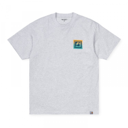 CARHARTT S/S Record Club T-Shirt Ash Heather0