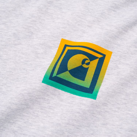 CARHARTT S/S Record Club T-Shirt Ash Heather2
