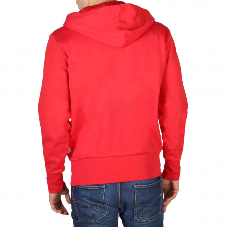 CHAMPION Hooded Sweat 214368 Red1