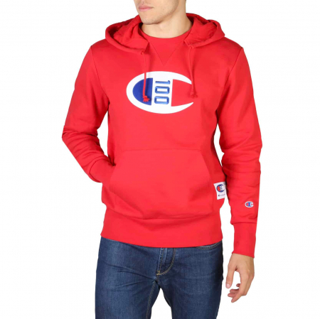 CHAMPION Hooded Sweat 214368 Red0