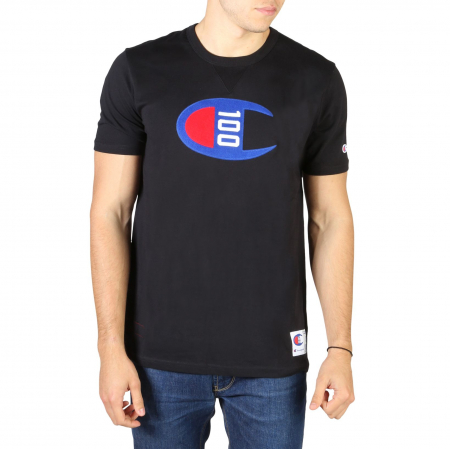 CHAMPION S/S Logo T-Shirt 214371 Black0