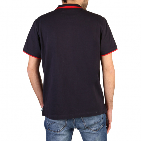 CHAMPION S/S Polo Shirt 214461 BS Navy Blue1