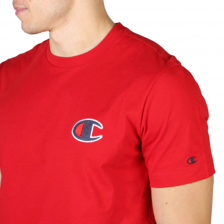 CHAMPION S/S Small Logo T-Shirt 213523 Red2