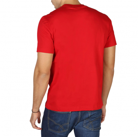CHAMPION S/S Small Logo T-Shirt 213523 Red1