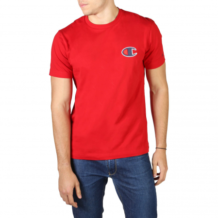 CHAMPION S/S Small Logo T-Shirt 213523 Red0