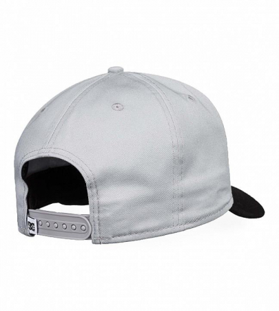 DC SHOES SPEED DEMON CAP GREY-BLACK2