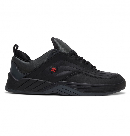 DC SHOES WILLIAMS SLIM BLACK/DK GREY/ATHLETIC RED0