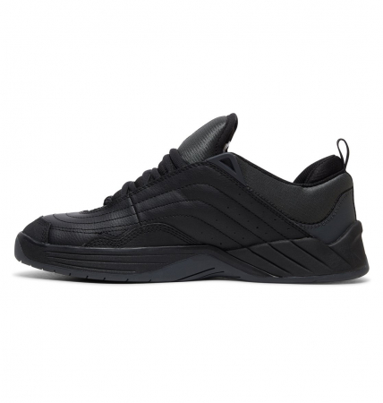 DC SHOES WILLIAMS SLIM BLACK/DK GREY/ATHLETIC RED1