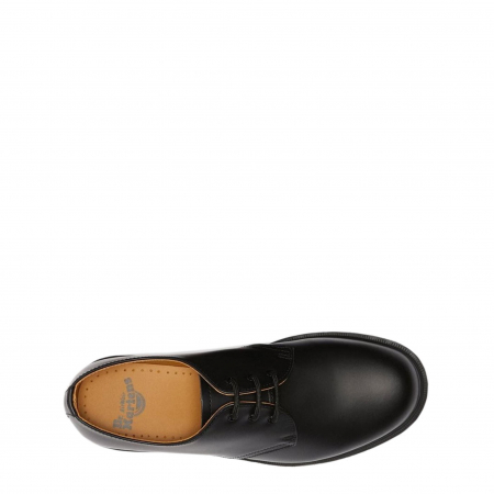 DR MARTENS 1461 Plain Welt Smooth Black2