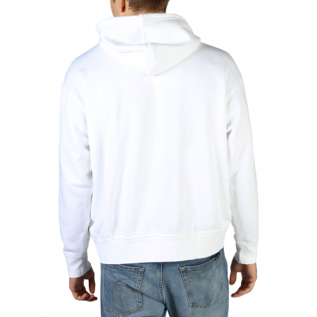 LEVI'S Relaxd Graphic Hooded Sweat White1