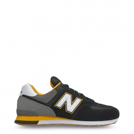 NEW BALANCE ML574SKA Black / Grey / Yellow0