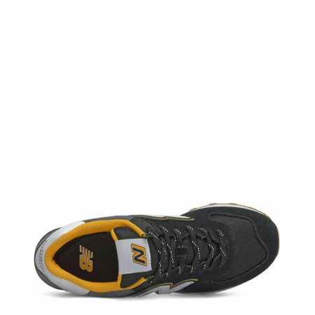 NEW BALANCE ML574SKA Black / Grey / Yellow2