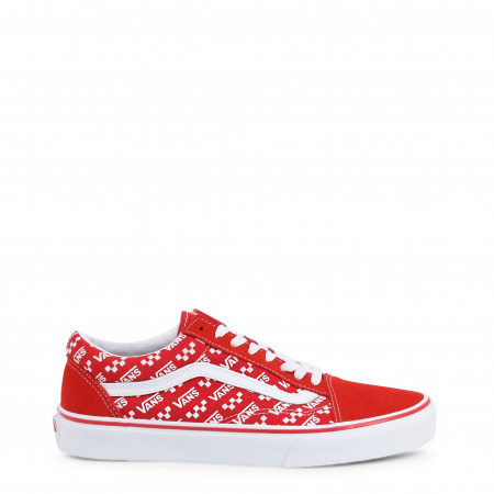 VANS Old Skool (Logo Repeat) Red / True White0