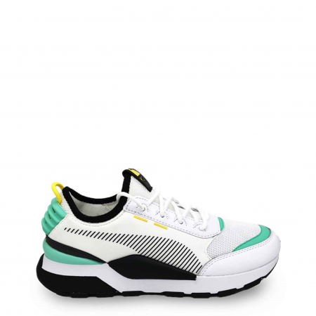 PUMA Tracks 369362 White / Turquoise / Black0