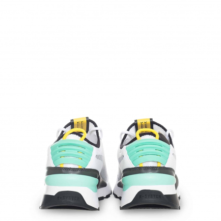 PUMA Tracks 369362 White / Turquoise / Black2