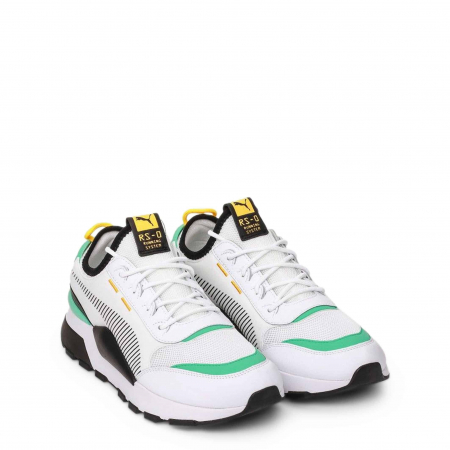 PUMA Tracks 369362 White / Turquoise / Black1