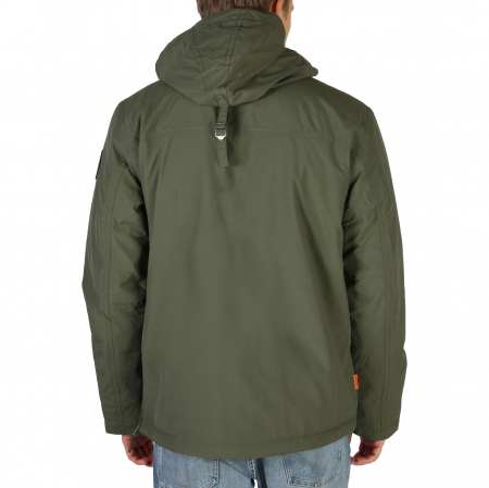 NAPAPIJRI Rainforest Jacket Deep Green1