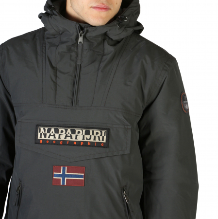 NAPAPIJRI Rainforest Jacket Grey2