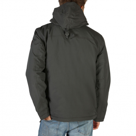 NAPAPIJRI Rainforest Jacket Grey1