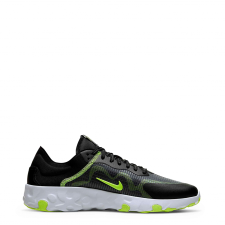NIKE Renew Lucent Black / Neon Green0