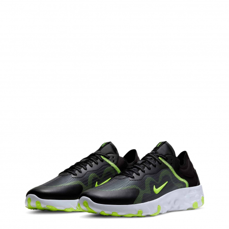 NIKE Renew Lucent Black / Neon Green1