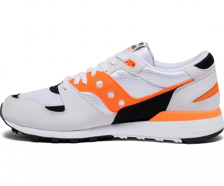 SAUCONY AZURA WHITE/ORANGE/BLACK1