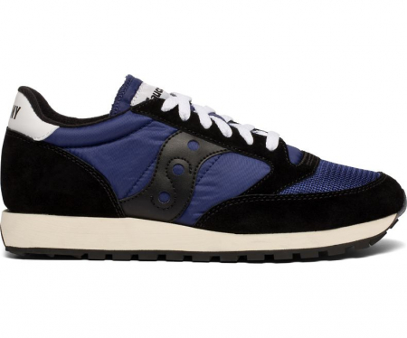 SAUCONY JAZZ ORIGINAL VINTAGE BLACK/NAVY0