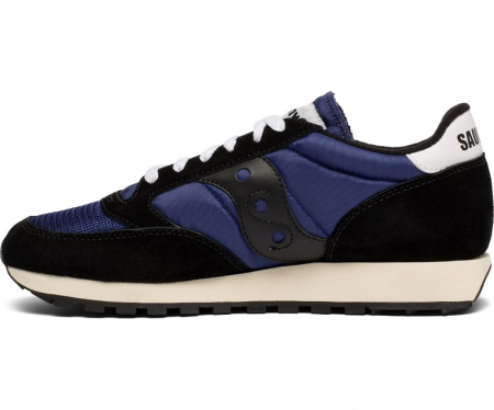 SAUCONY JAZZ ORIGINAL VINTAGE BLACK/NAVY1