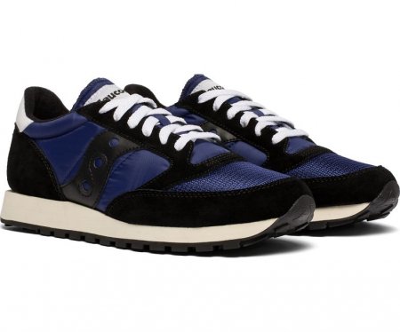 SAUCONY JAZZ ORIGINAL VINTAGE BLACK/NAVY4