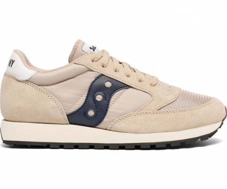 SAUCONY JAZZ ORIGINAL VINTAGE TAN/NAVY0