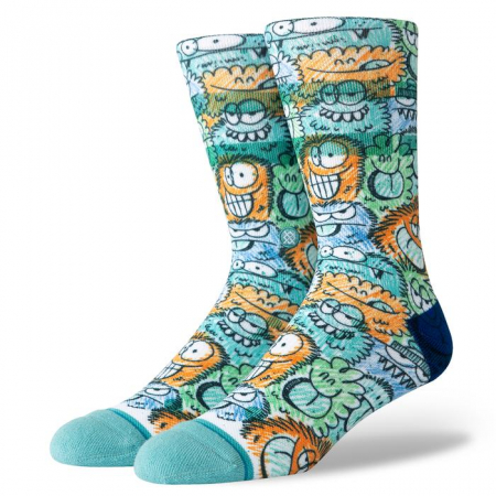 STANCE Kevin Lyons Crunch Teal0