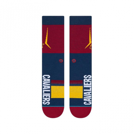 STANCE NBA Arena Cavs Shortcut Maroon1