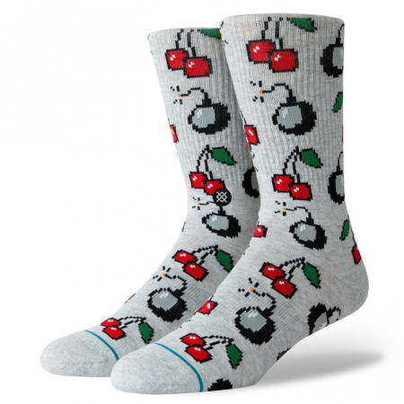 STANCE Cherri Bomb Socks Heather Grey0