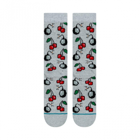 STANCE Cherri Bomb Socks Heather Grey2