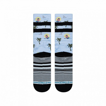 STANCE Aloha Monkey ST Light Blue2