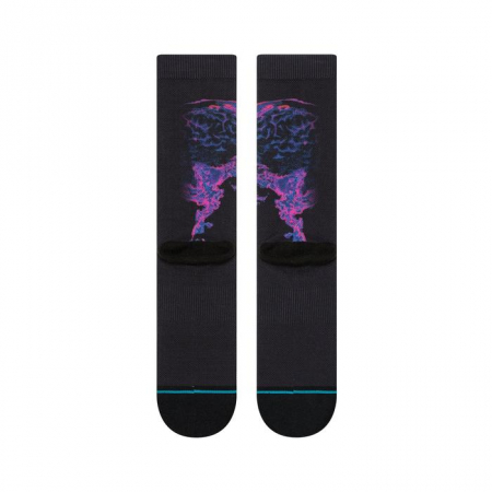 STANCE Kid Cudi Brains Black2