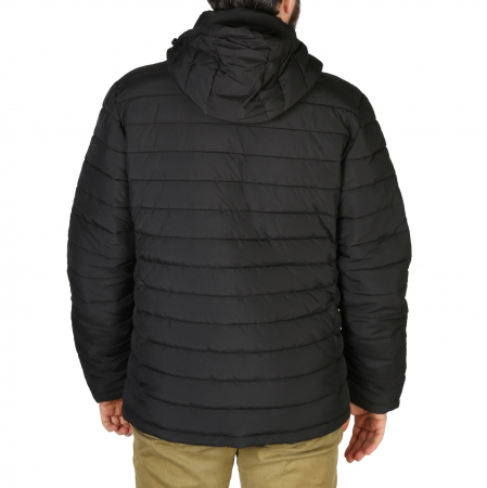 SUPERDRY Hooded Fuji Jacket Black1
