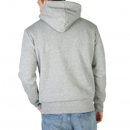 SUPERDRY Orange Label Classic Hoodie Soft Grey Marl1