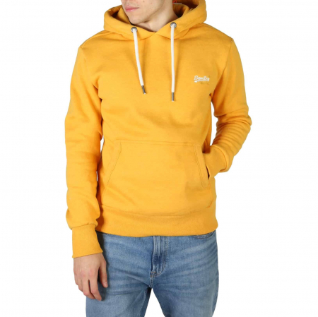 SUPERDRY Orange Label Classic Hoodie Upstate Gold Marl0