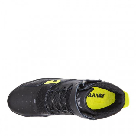 SUPRA BREAKER BLACK/LIME-BLACK1
