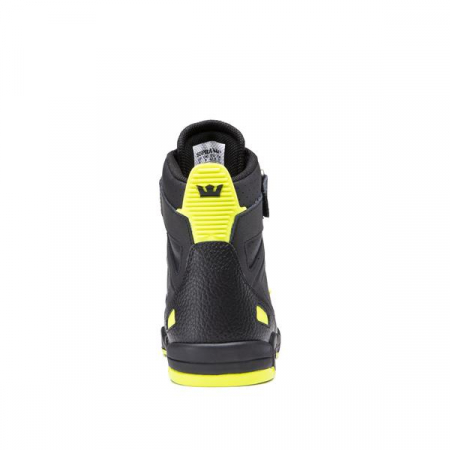 SUPRA BREAKER BLACK/LIME-BLACK2