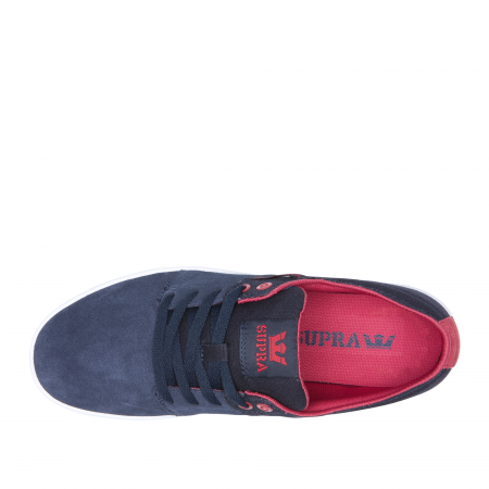 SUPRA STACKS II NAVY/ROSE-WHITE2