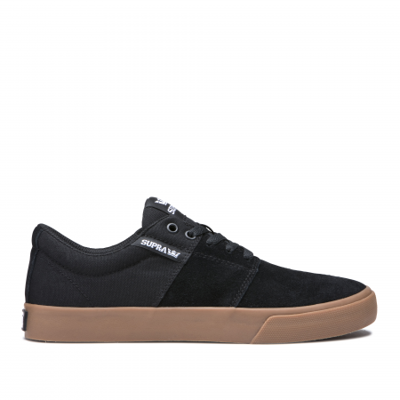 SUPRA STACKS VULC II BLACK - GUM0