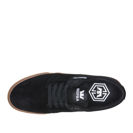 SUPRA STACKS VULC II BLACK - GUM2