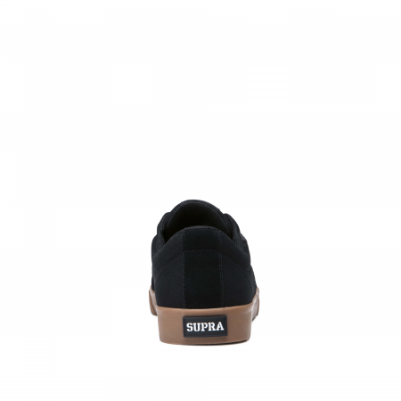 SUPRA STACKS VULC II BLACK - GUM1