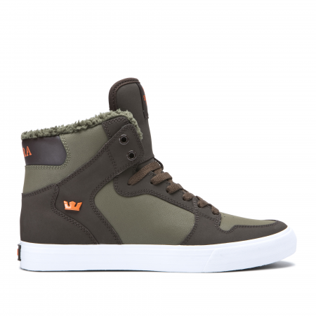 SUPRA VAIDER DEMITASSE/OLIVE NIGHT-WHITE0