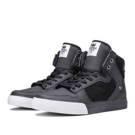 SUPRA VAIDER BLACK / LT GREY - BLACK0